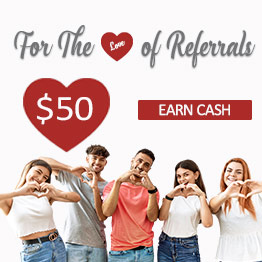 Member Referral Rewards Program. Earn $25. Learn More